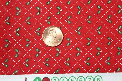 """/""""CHRISTMAS BASICS/"""" COTTON QUILT FABRIC BY THE YARD FOR CHOICE FABRICS 47368-A01"""