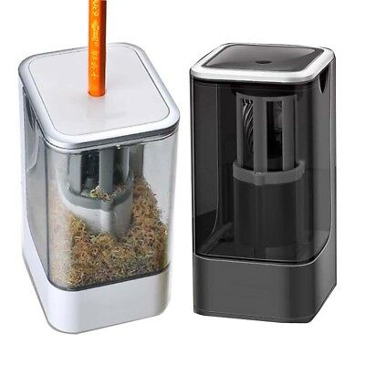 Automatic Desktop Electric School Office Pencil Sharpener with 360° Spiral Hob