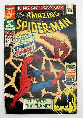 Amazing Spider-Man King-Size Special #4 (VG) 4.0, Marvel Comics, Silver Age