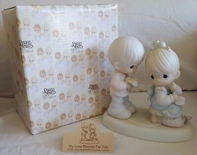 My Love Blooms For You ~ Precious Moments ~ 521728 (Enesco Collectible)