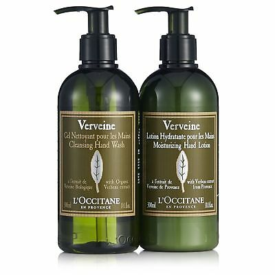 L'Occitane Verbena Hand Wash & Lotion Set - 10oz