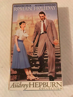 Roman Holiday, Gregory Peck, Audrey Hepburn, Vhs