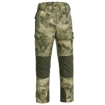 Pinewood Lappland Camou Hose Kinder moss camou/mossgreen