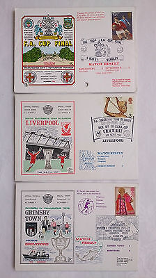 Football Special Events F D C. F A Cup 1981.europe Liverpool 1972.grimsby 1972
