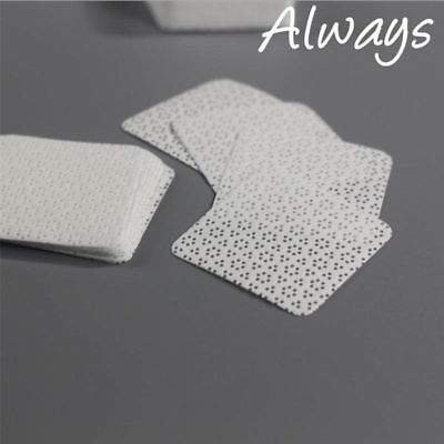 100pcs/bag Cotton Lint-Free Nail Wipes Napkins professional Remove Gel Polish
