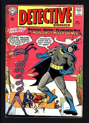 Detective Comics #331 Batman & Elongated Man Great Value Original Owner Copy