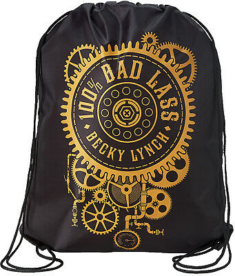 WWE BECKY LYNCH 100% Bad Lass OFFICIAL DRAWSTRING BAG TURNBEUTEL TASCHE