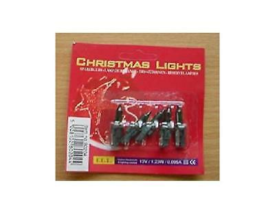 No 15 Pk of 5 Multi Spare Bulbs-13V 0.095A 1.235W