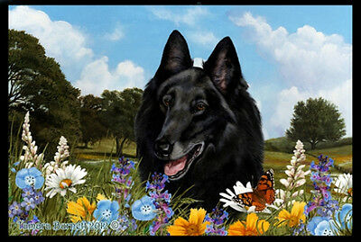 Indoor/Outdoor Summer Floor Mat - Belgian Sheepdog (TB) 39204