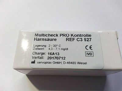 C3 527 Uric Acid Control for Lifetouch Multicheck Pro, 3,75 ml (126,93 €/ 1