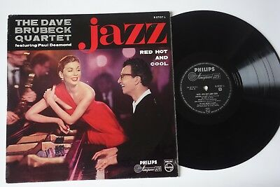 The Dave Brubeck Quartet  Paul Desmond Red Hot and Cool LP