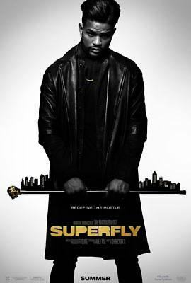 Superfly - original DS movie poster 27x40 D/S