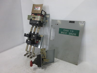 GE 8000 Series 300 Amp Main Breaker Type MCC Feeder Bucket 300A TJL4V2603