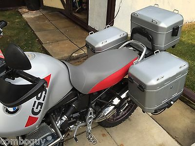 2002-06 BMW R1150GS Adventure SEAT COVER in gray, blue, yellow or plain black