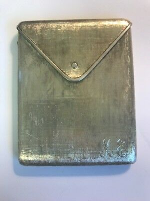 Tiffany & Co Vintage Italy Sterling Silver Cigarette Case / Card Holder