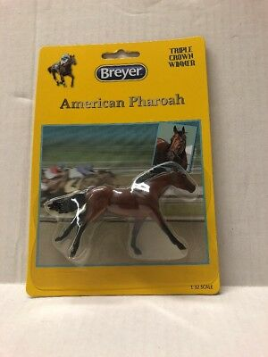 NEW Breyer American Pharoah Stablemates 1/32 Scale Horse Kids Collectibles model