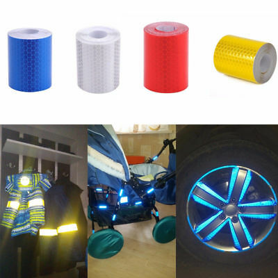 3m Safety Car Truck Reflective Warning Conspicuity Roll Tape Film Sticker Decals