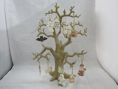 Lenox Halloween Tree Figurine With Ornaments