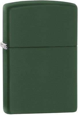 Zippo Regular Green Matte Lighter Model 221 New in Packaging
