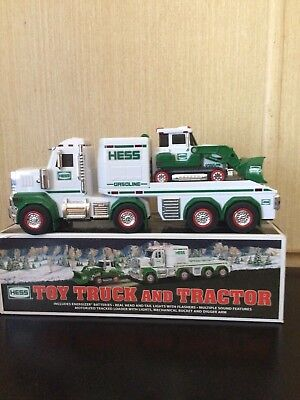 2013 Hess Truck And Tractor In Excellent Used Condition. W/ Box Issue