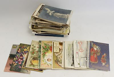 Vintage/Antique MIXED Collection of Approx 150 POSTCARDS incl CHRISTMAS  - N46