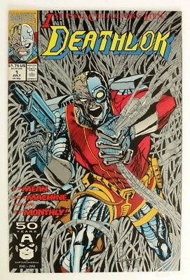 M287. DEATHLOK #1 Marvel Comics 8.5 VF+ (1991) Ongoing Series Premiere '
