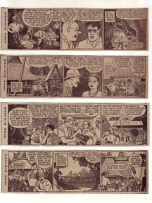 Captain Easy & Wash Tubbs by Turner - 26 daily comic strips Complete August 1953