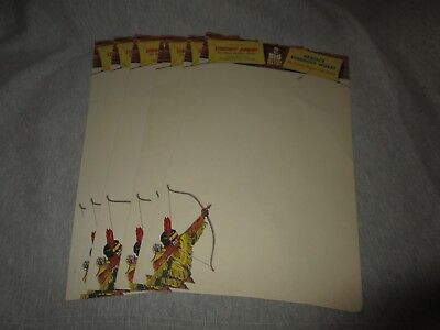 NABISCO SHREDDED WHEAT-STRAIGHT ARROW RADIO SHOW-VINTAGE 1950s PROMO LETTERHEAD