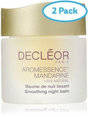 2 Packs of Decleor Aromessence Mandarine Smoothing Night Balm 15ml