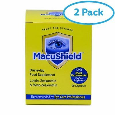 2 Packs of Macushield Capsules 90's | AMAZON BANNED IT