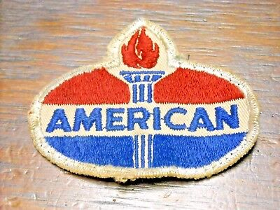 AMERICAN OIL COMPANY PATCH amoco jumpsuit coveralls vintage hat cap