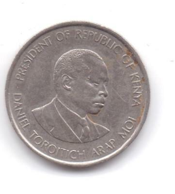 50 Cents-Republic Of Kenya-1980-Good Condition