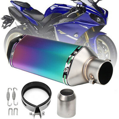 Universal Motorcycle Exhaust Muffler Pipe Removable DB Killer Slip on 38-51mm