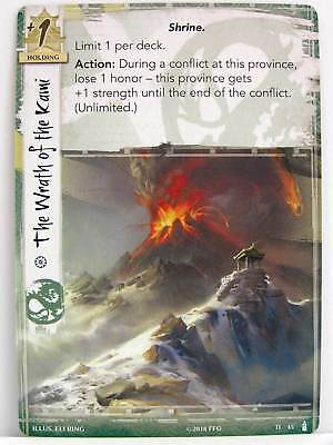 Legend of the Five Rings LCG - 1x #045 The Wrath of the Kami - The Fires Within