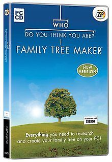 GSP Who Do You Think You Are? Family Tree Maker... | Software | Zustand sehr gut