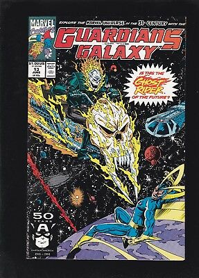Guardians of The Galaxy #13 1st Spirit of Vengeance App (Future Ghost Rider)!