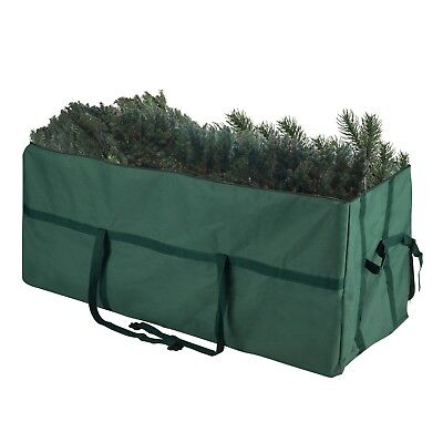Heavy Duty Canvas Christmas Storage Bag 7.5 Foot Tree Artificial Tree Zippered