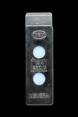 Mem 15 Amp Hrc Cartridge Fuse Carrier Memera Hn520 With Base