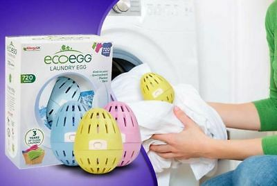 EcoEgg Laundry Egg 210 or 720 Washes & Refills Eco Friendly Washing Detergent