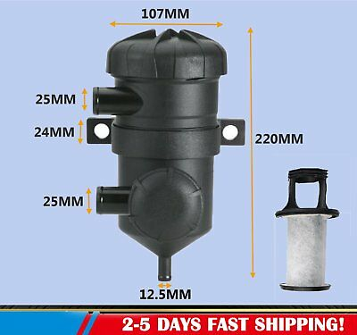 ProVent 200 Oil Catch Can Filter Separator for Turbo 4WDs Pro Vent