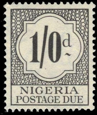 """NIGERIA J5 (SG D5) - Numeral of Value """"Postage Due"""" (pf75073)"""