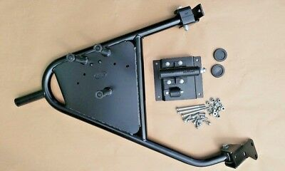 Military /| Genuine Land Rover Swing Away Spare Wheel Carrier Defender 90 110