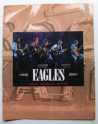 Eagles Original 1995 World Tour Book Tour Book Concert program