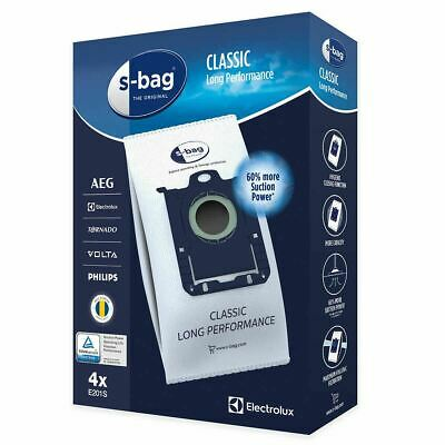 Genuine Electrolux S-bag E 201S Vacuum Cleaner Bags 9001684589 fits Philips AEG