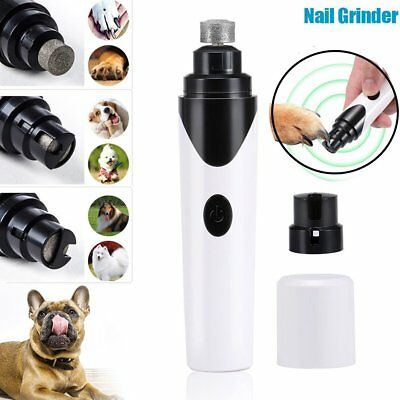 Pro Pet Dog Cat Nail Claw Grinder Trimmer Clipper Electric Nail File Supply 9W