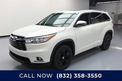 Toyota Highlander Limited Texas Direct Auto 2014 Limited Used 3.5L V6 24V Automatic FWD SUV Premium