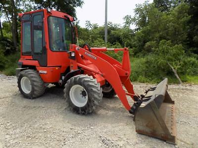 2012 Kubota R520S Wheel Loader, 500 Hours, Cab&Heat, 4X4, 2 Speed, Kubota Diesel