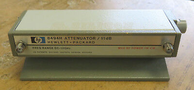 HP Agilent Programmable Step Attenuator DC-18GHz 8494H Opt. 002