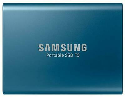 Samsung Portable T5 250GB External SSD Solid State Drive 250GB Capacity