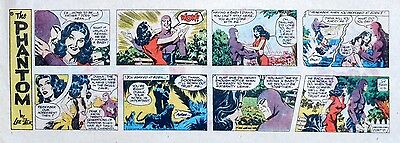 The Phantom by Lee Falk & Sy Barry - lot of 12 color Sunday pages - late 1978